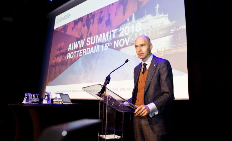 ROTTERDAM - NWP AIWW SUMMIT 2018. - FOTO GUUS SCHOONEWILLE